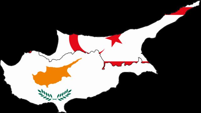 mapa division de lenguas e idiomas chipre tuquia