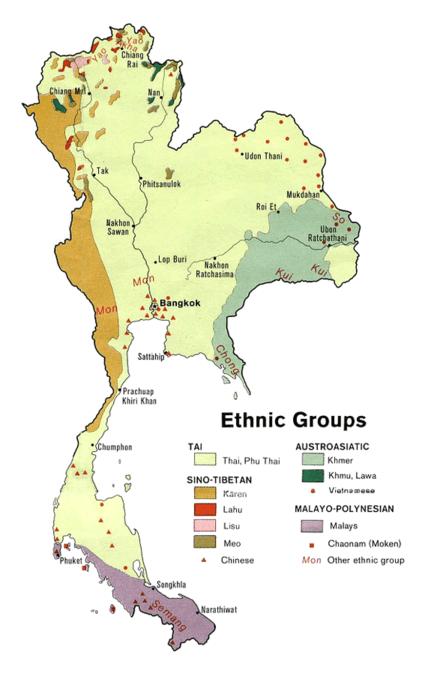 grupos etnicos de tailandia