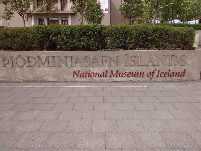idioma ingles islandia signos informacion
