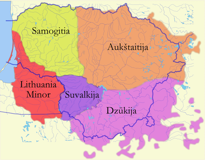 lituania dialectos idioma lituano