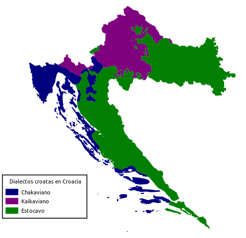 croacia dialectos idioma croata