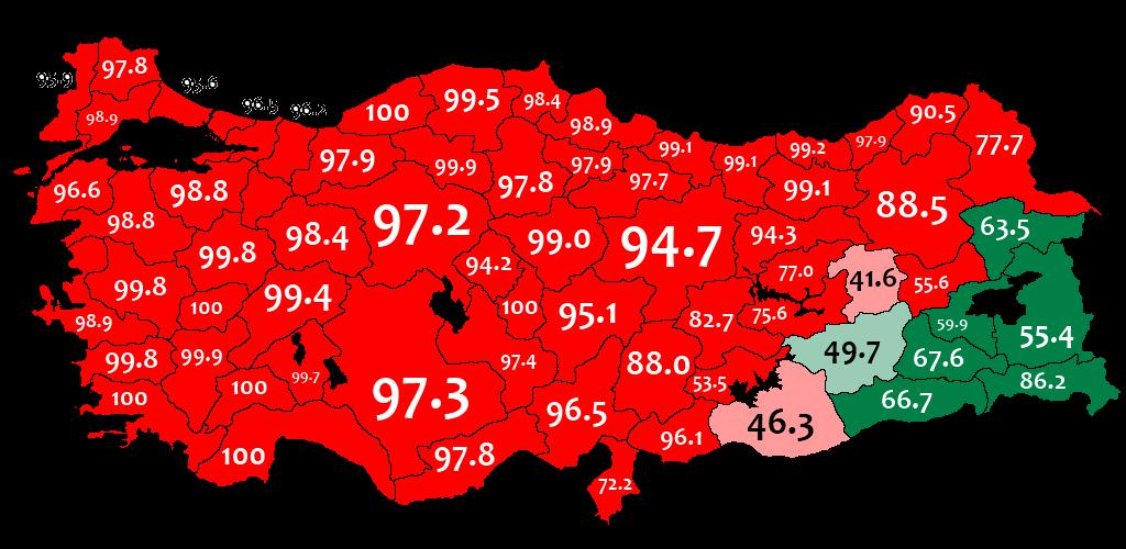 idioma turco y kurdo en turquia