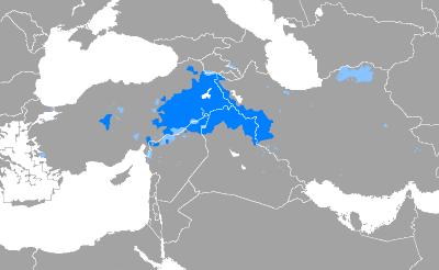 zonas donde se habla idioma kurdo